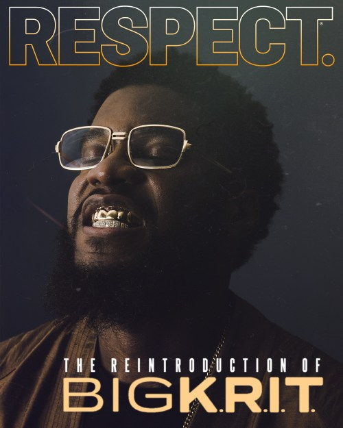 Big K.R.I.T. for RESPECT.